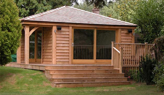 Hardwood Cedar Cladding