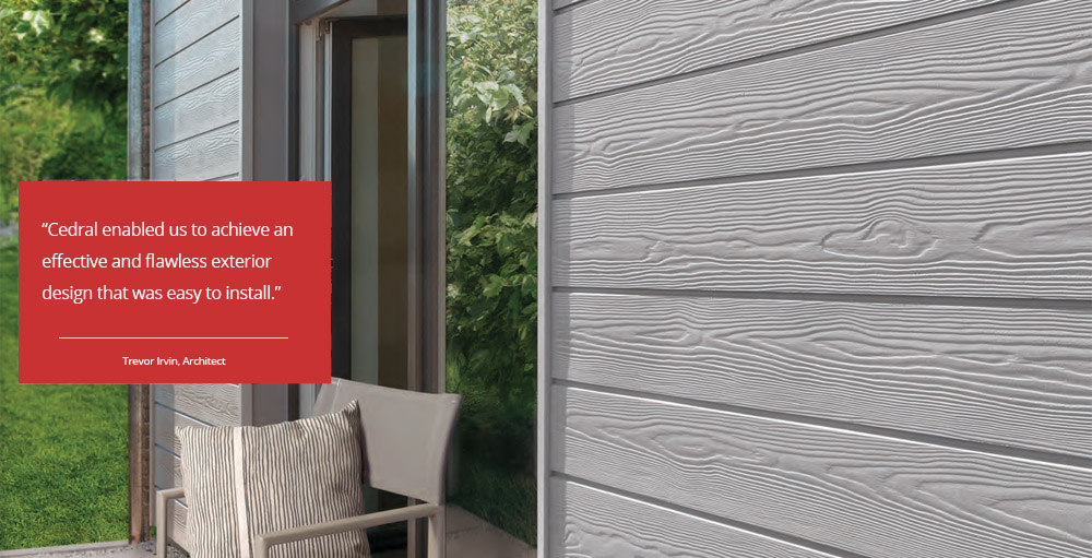 Cedral Weatherboard Cladding